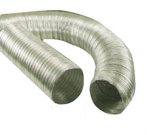 Ventilacijsko fleksibilno crijevo, fi 100, 1 m, HACO