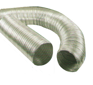 Ventilacijsko fleksibilno crijevo, fi 125, 1 m, HACO