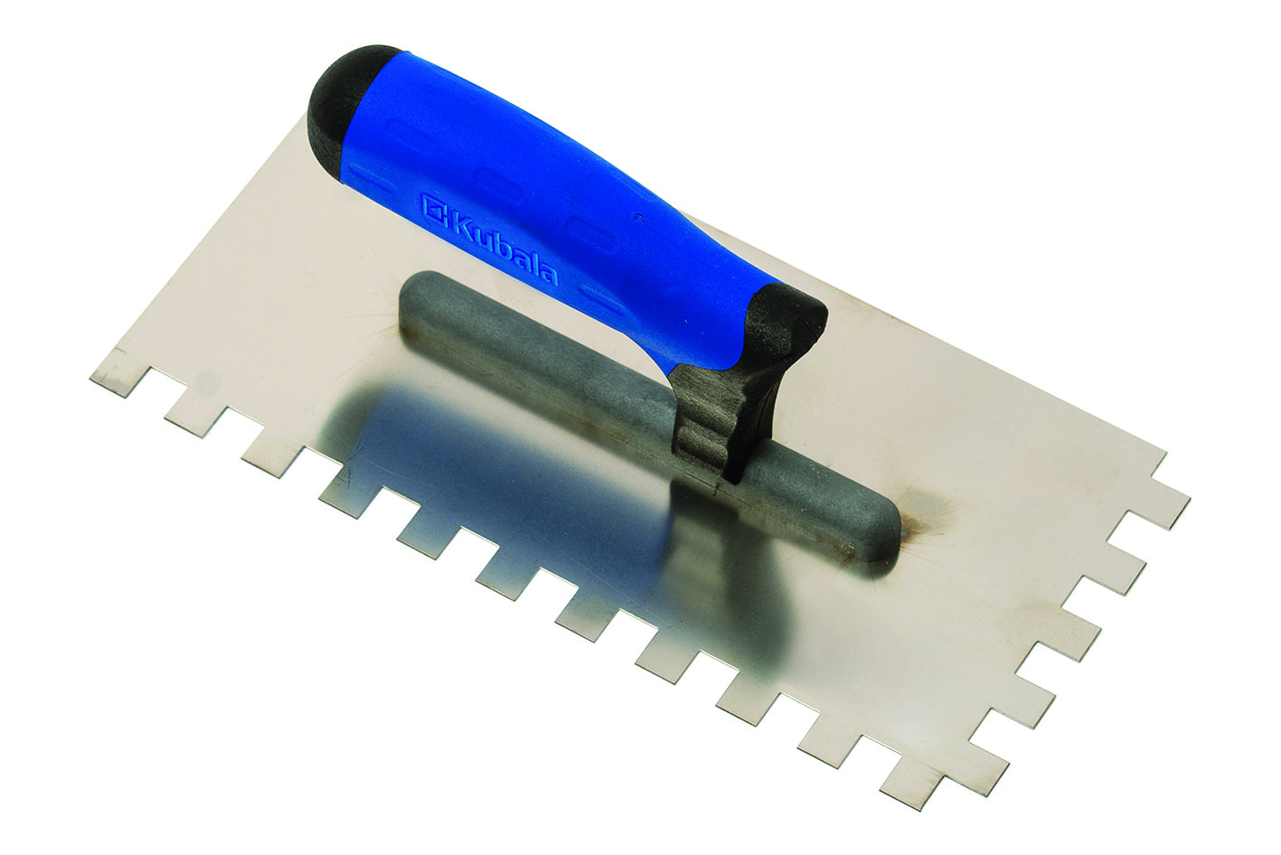 Gleter,130x270 mm, inox nazubljeni, 10x10 mm, SOFT GRIP