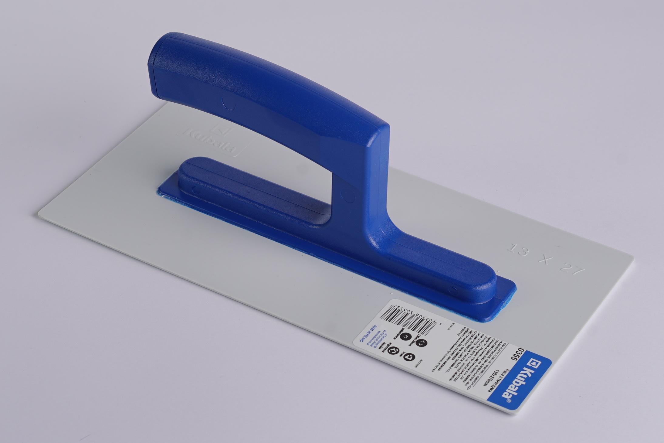 Plastični glatki gleter, 130x270 mm