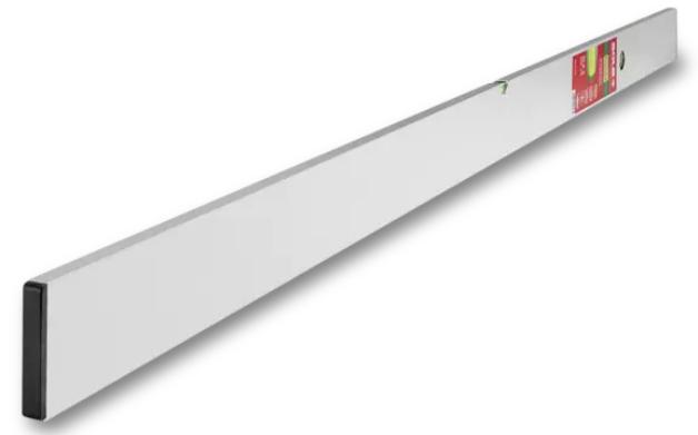 Aluminijska letva za ravnanje s libelom, 250 cm, SOLA SLX2