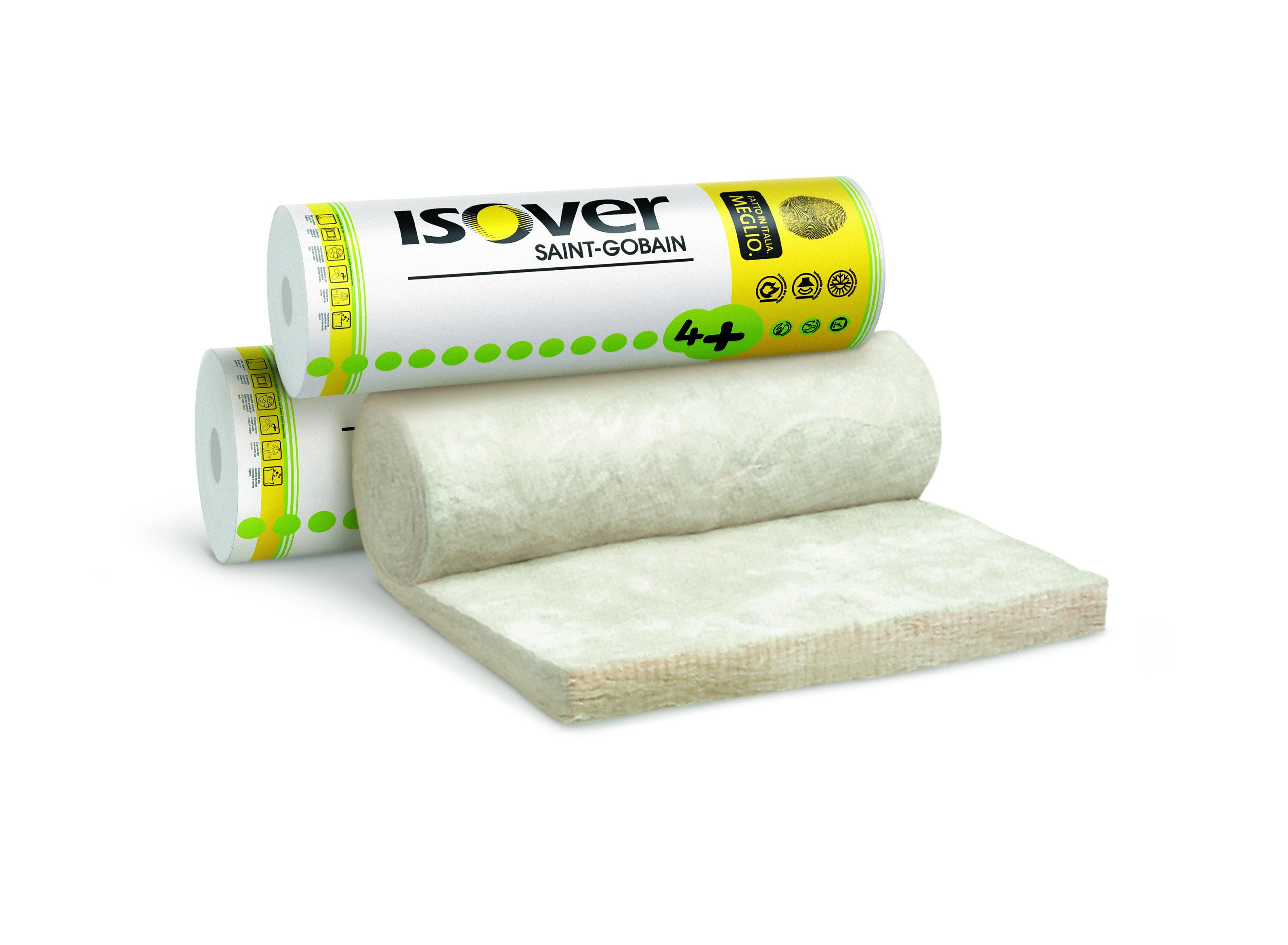 Staklena vuna za toplinsku i zvučnu izolaciju, 160 mm, EVO 4+, ISOVER