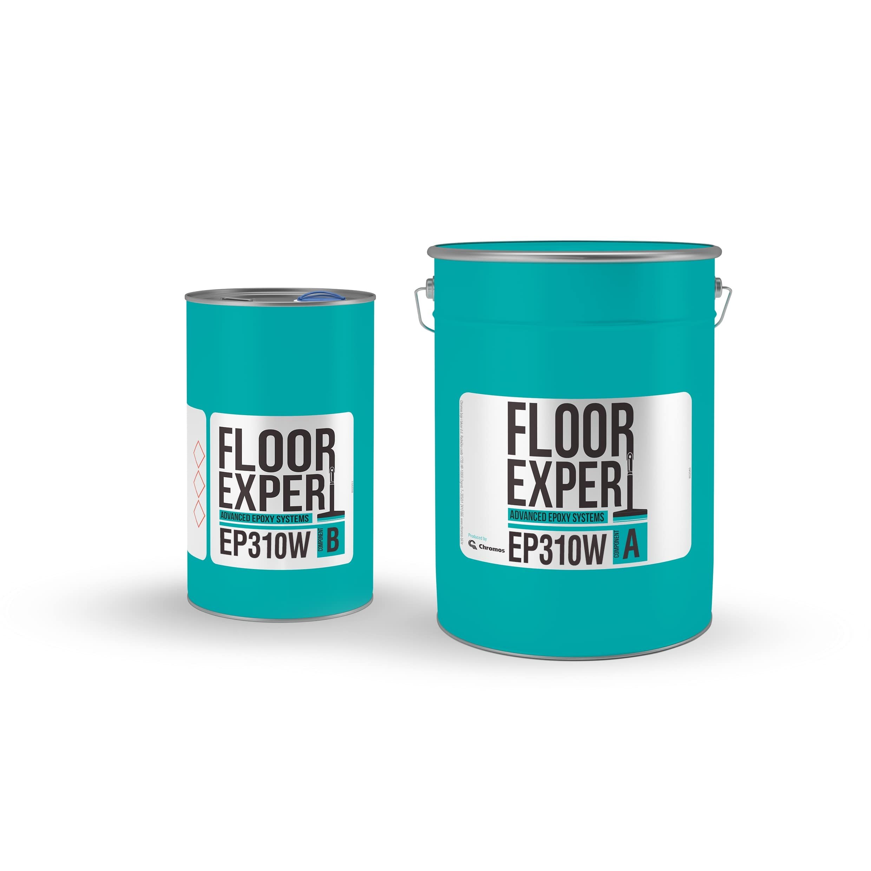 Epoksidni podovi, završni premaz, FLOOR EXPERT EP 310 W, RALL 7032; za 24 m2