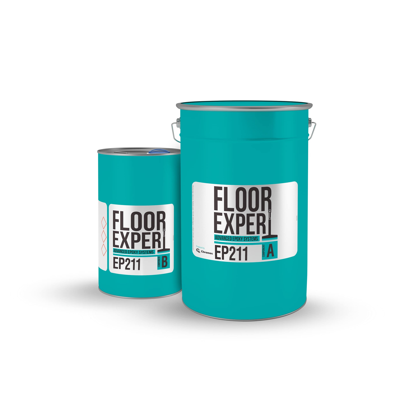 Epoksidni podovi, završna masa, FLOOR EXPERT EP 211, RAL 7032, za 15m2
