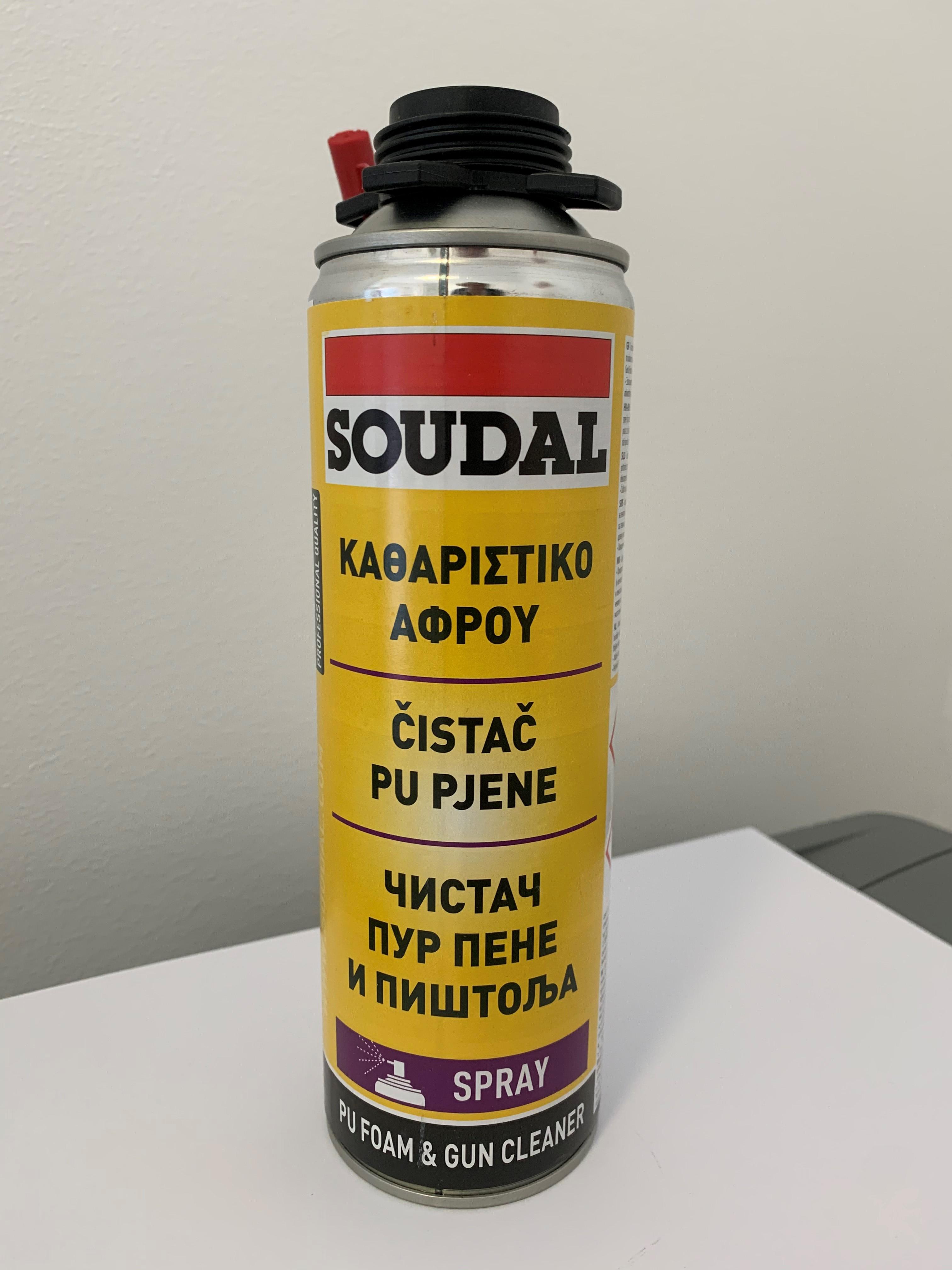 Čistač za pištolj pur pjene, 500 ml, SOUDAL