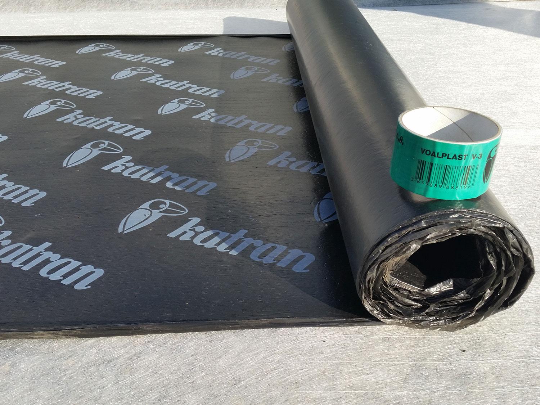 Bitumenska traka za nadzemne hidroizolacije, VOALPLAST V-3N, 10 m2, KATRAN