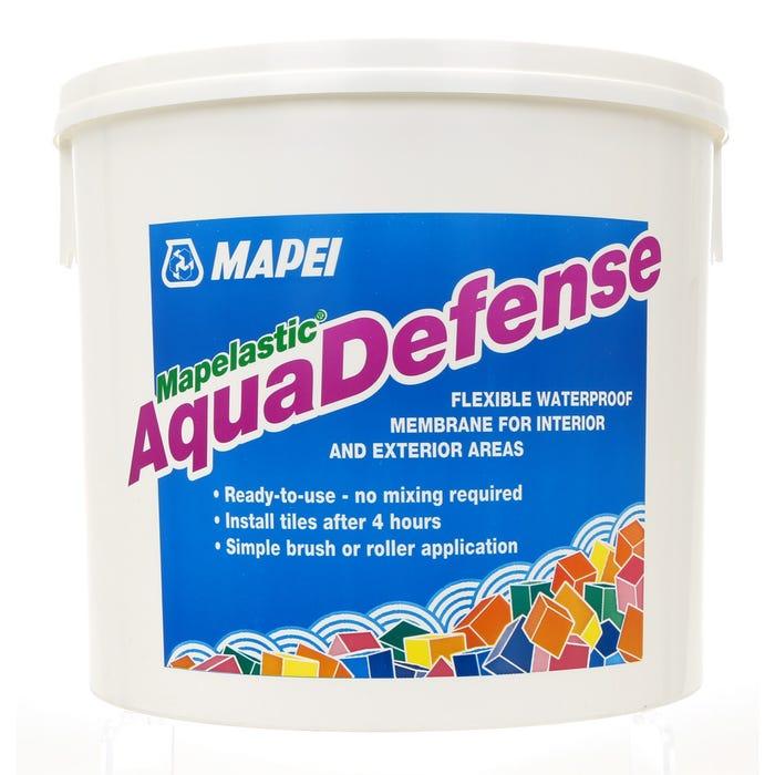 Jednokomponentna brzosušeća hidroizolacija, MAPELASTIC AQUADEFENSE, 15 kg, MAPEI