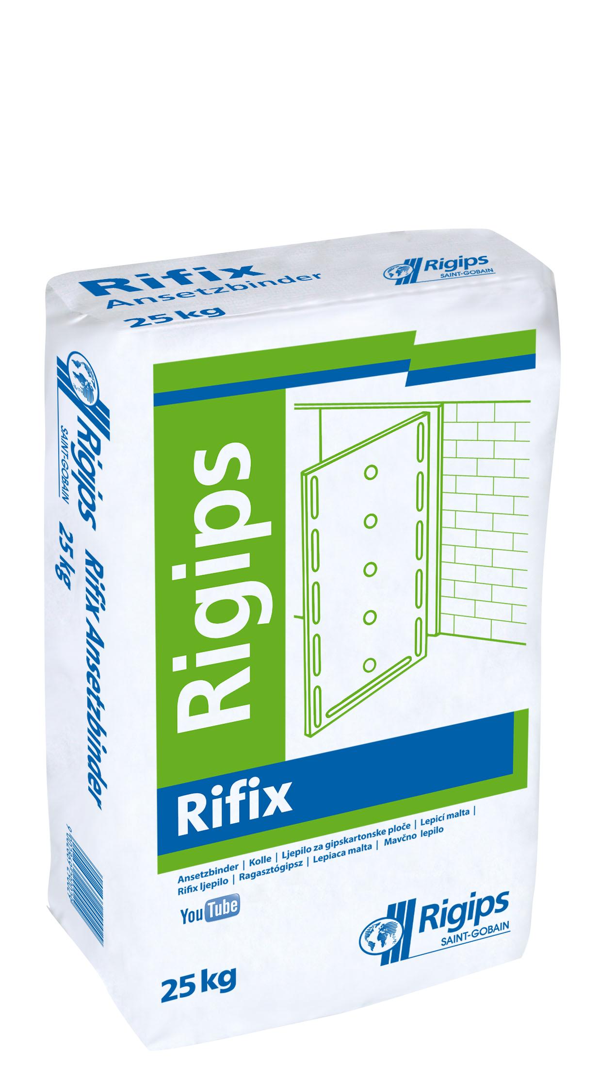 Ljepilo za gips ploče RIFIX, 25 kg, RIGIPS