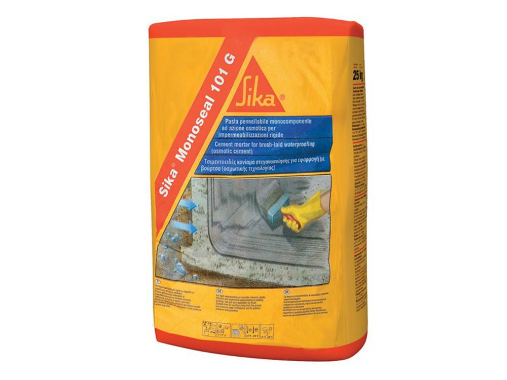 Vodonepropusna masa na bazi cementa, MONOSEAL 101 siva, 20 kg, SIKA