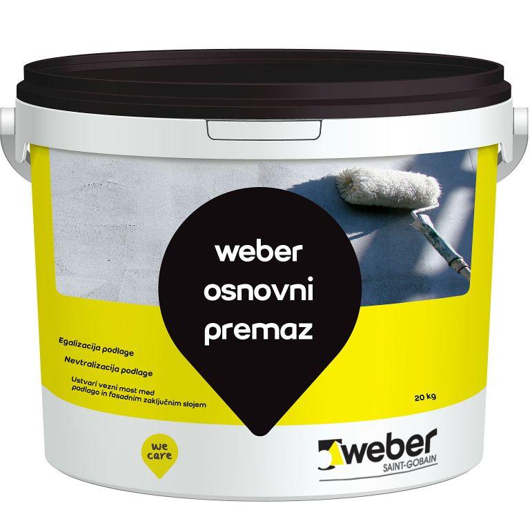 Univerzalni predpremaz za fasade, 20 kg, WEBER