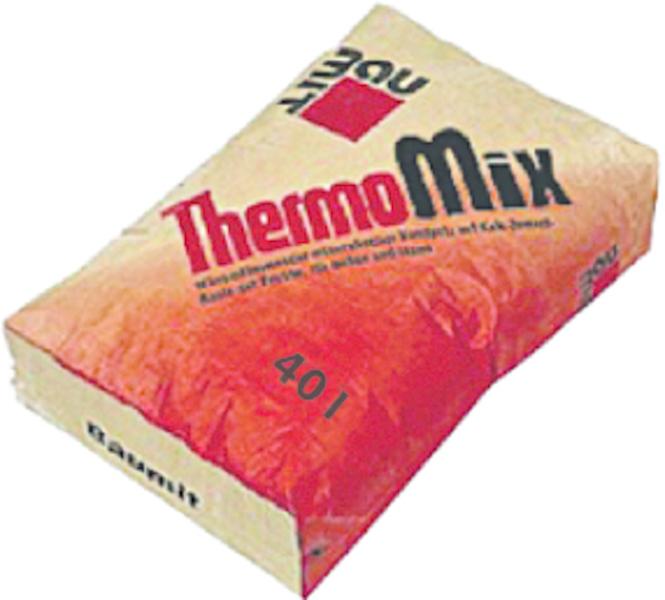 Termoizolacijska žbuka za ručno i strojno nanošenje, THERMOMIX, 40 l, BAUMIT
