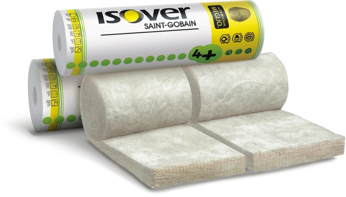 Staklena vuna za pregradne zidove i stropove, 50 mm, AKUSTO TWIN R 4+, ISOVER