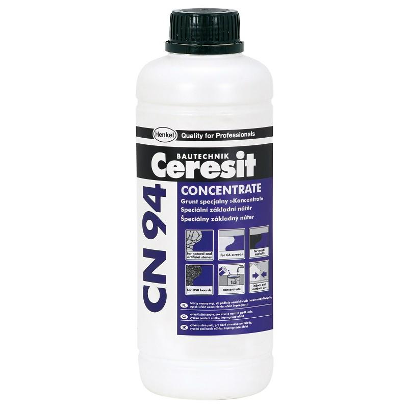 Predpremaz za vezivanje ljepila ili masa na kritičnim podlogama, CN 94, 1 l , CERESIT