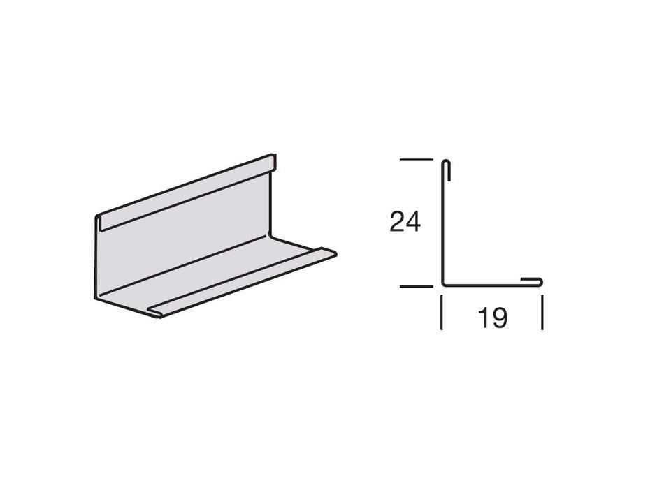 Profil za spušteni strop, L-3000 24x19, AMF