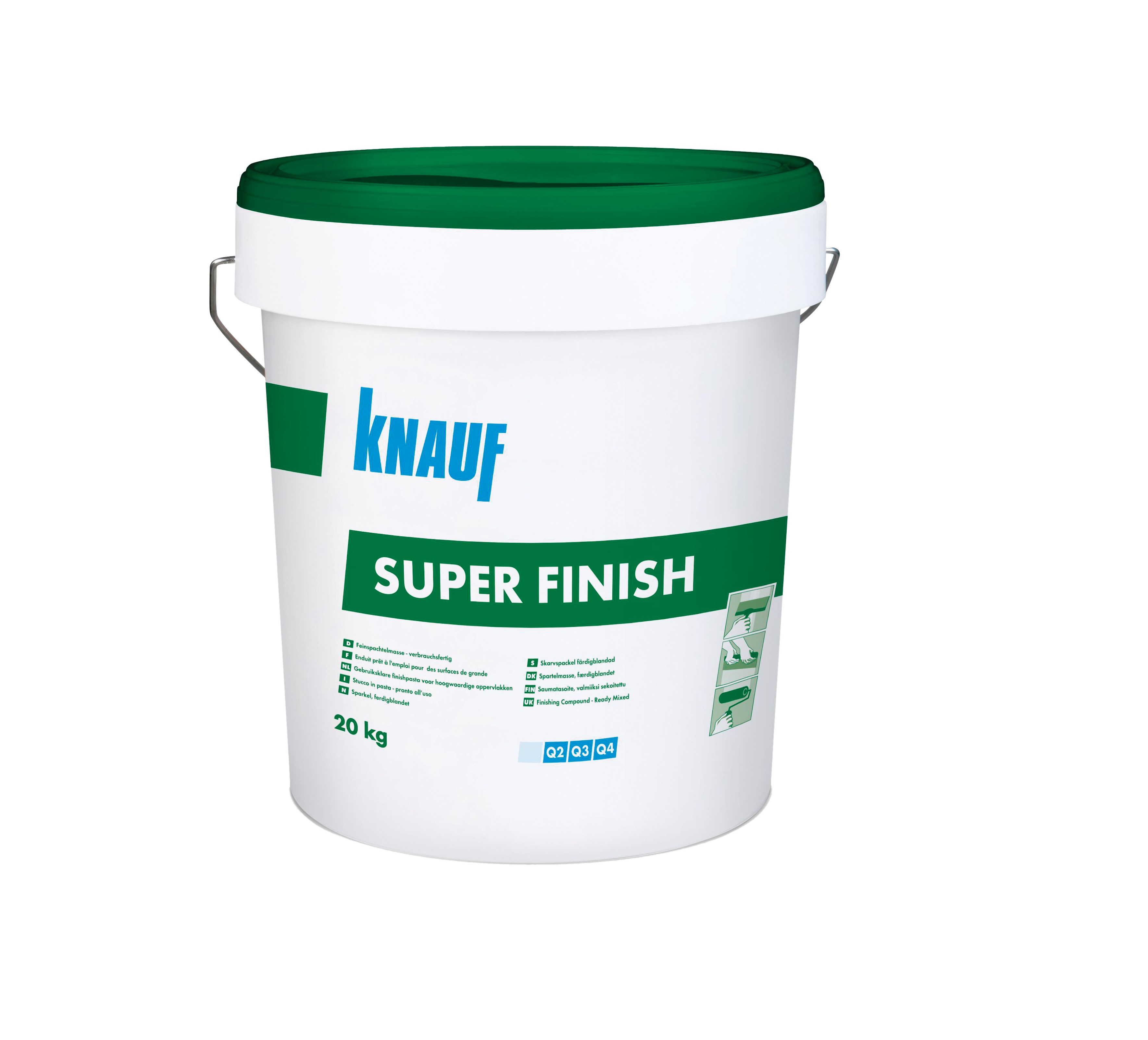 Glet masa za obradu spojeva i površina, SUPERFINISH, 25 kg, KNAUF