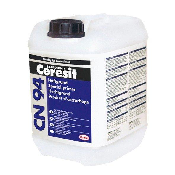 Predpremaz za vezivanje ljepila ili masa na kritičnim podlogama, CN 94, 5 l , CERESIT