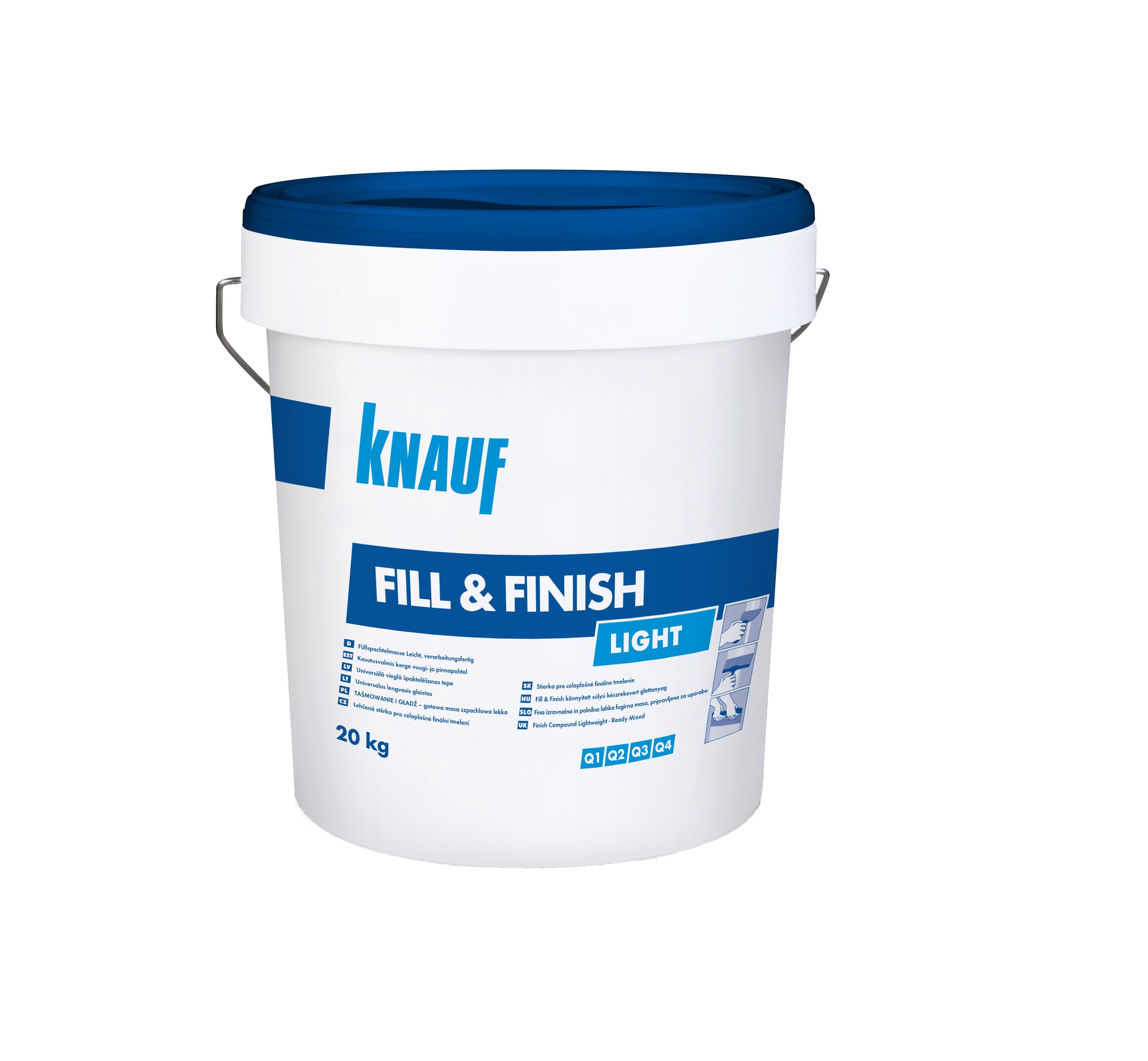 Glet masa za obradu spojeva i površina, FILL i FINISH, 20 kg, KNAUF