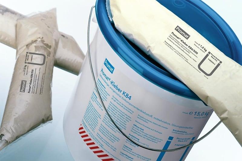 Ljepilo za spojeve AD ploča za ventilaciju KLEBER84 GRAU, 1 kg, PROMAT