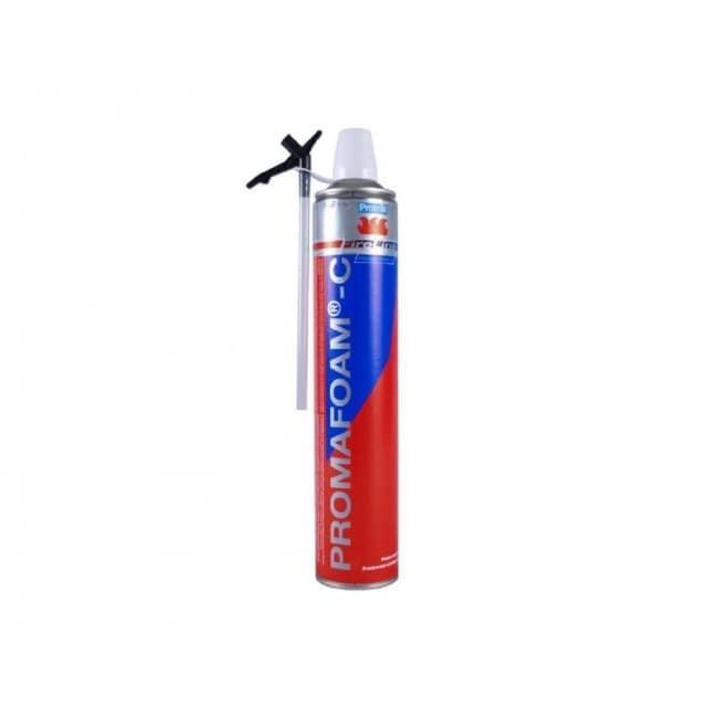 Protupožarna poliuretanska pjena PROMAFOAM-C s rukavicom, 750 ml, PROMAT