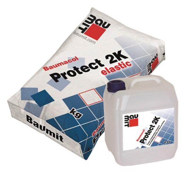 Vodonepropusna masa, BAUMACOL PROTECT 2K ELASTIC (20 kg+8 kg), BAUMIT