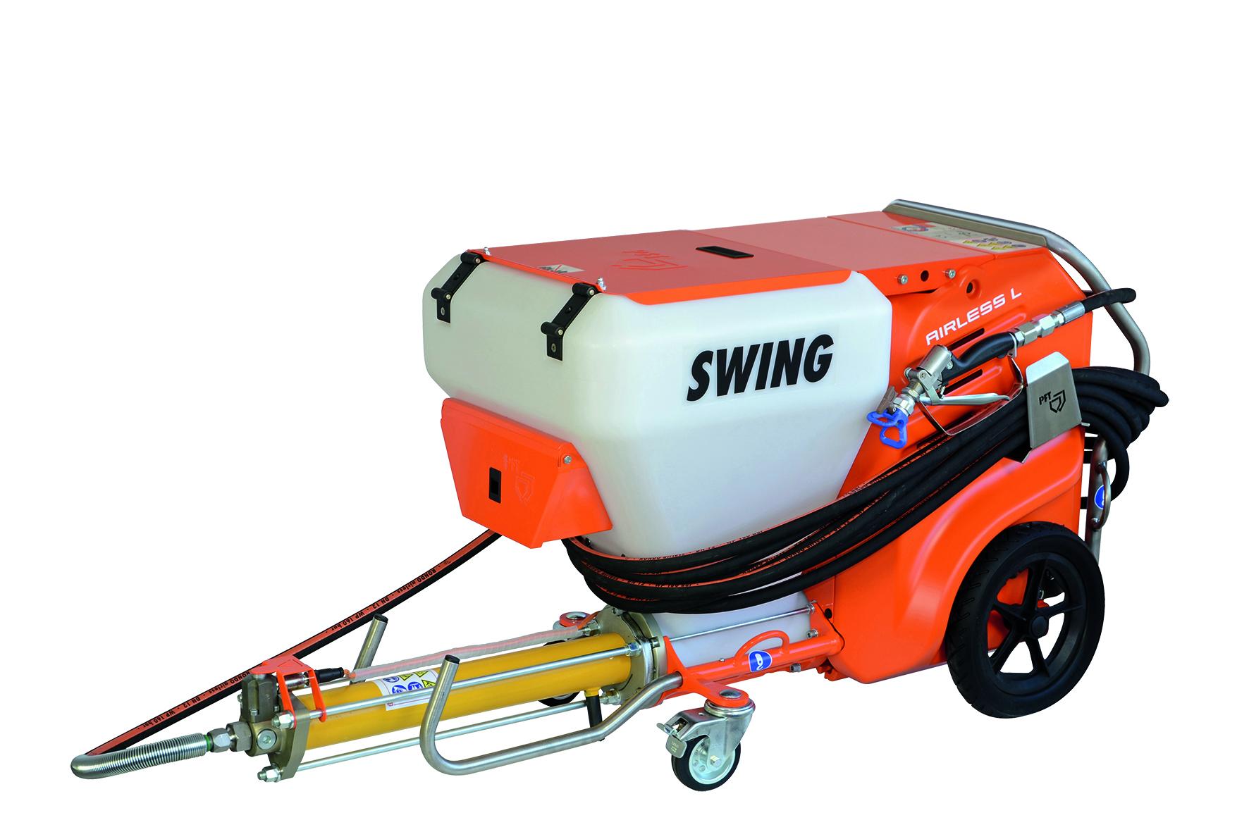 Protočna pumpa, SWING L FC-230V, Airless, PFT