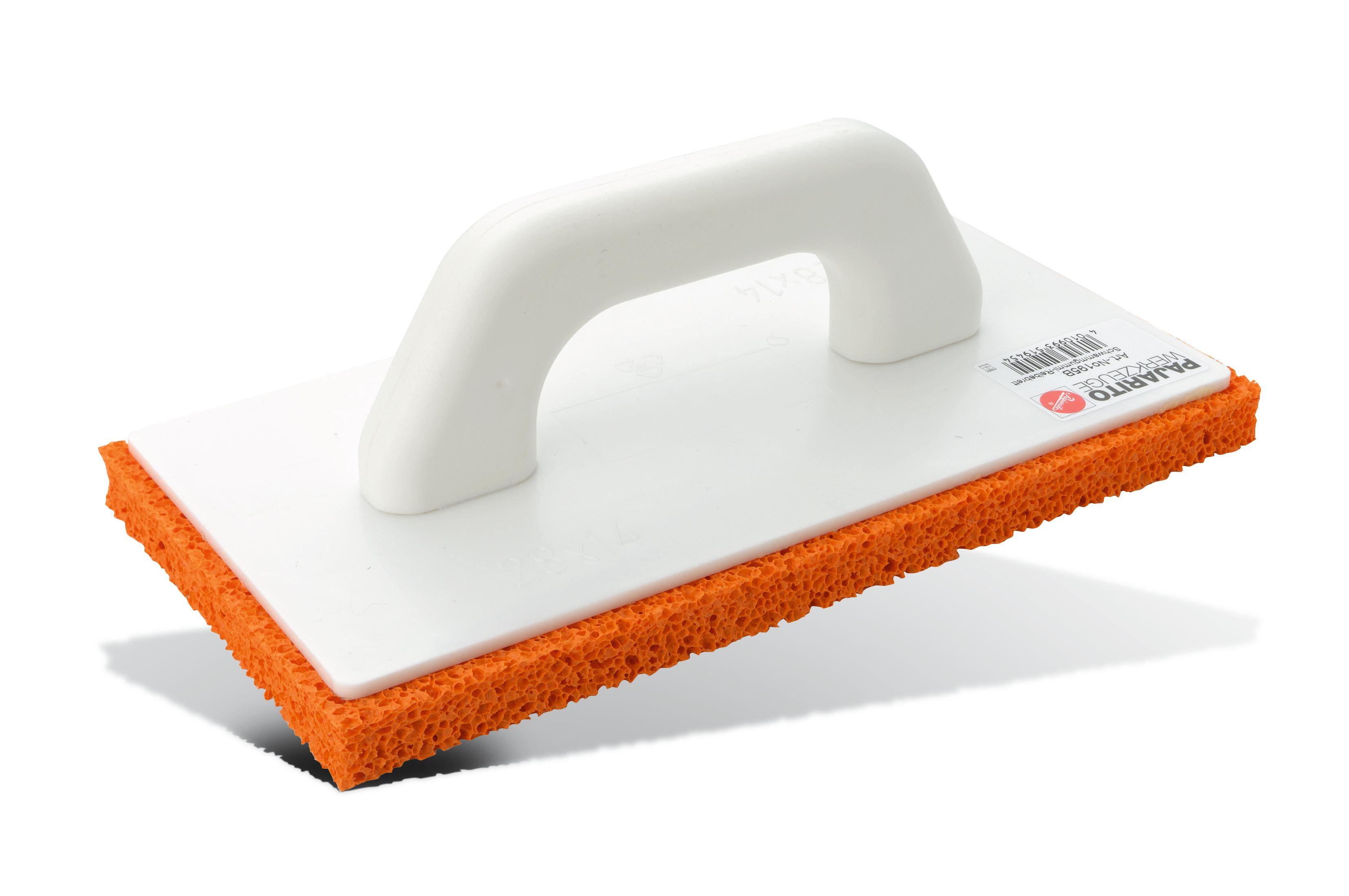 Gleter za pranje pločica narančasta spužva,280x140x20 mm, PAJARITO