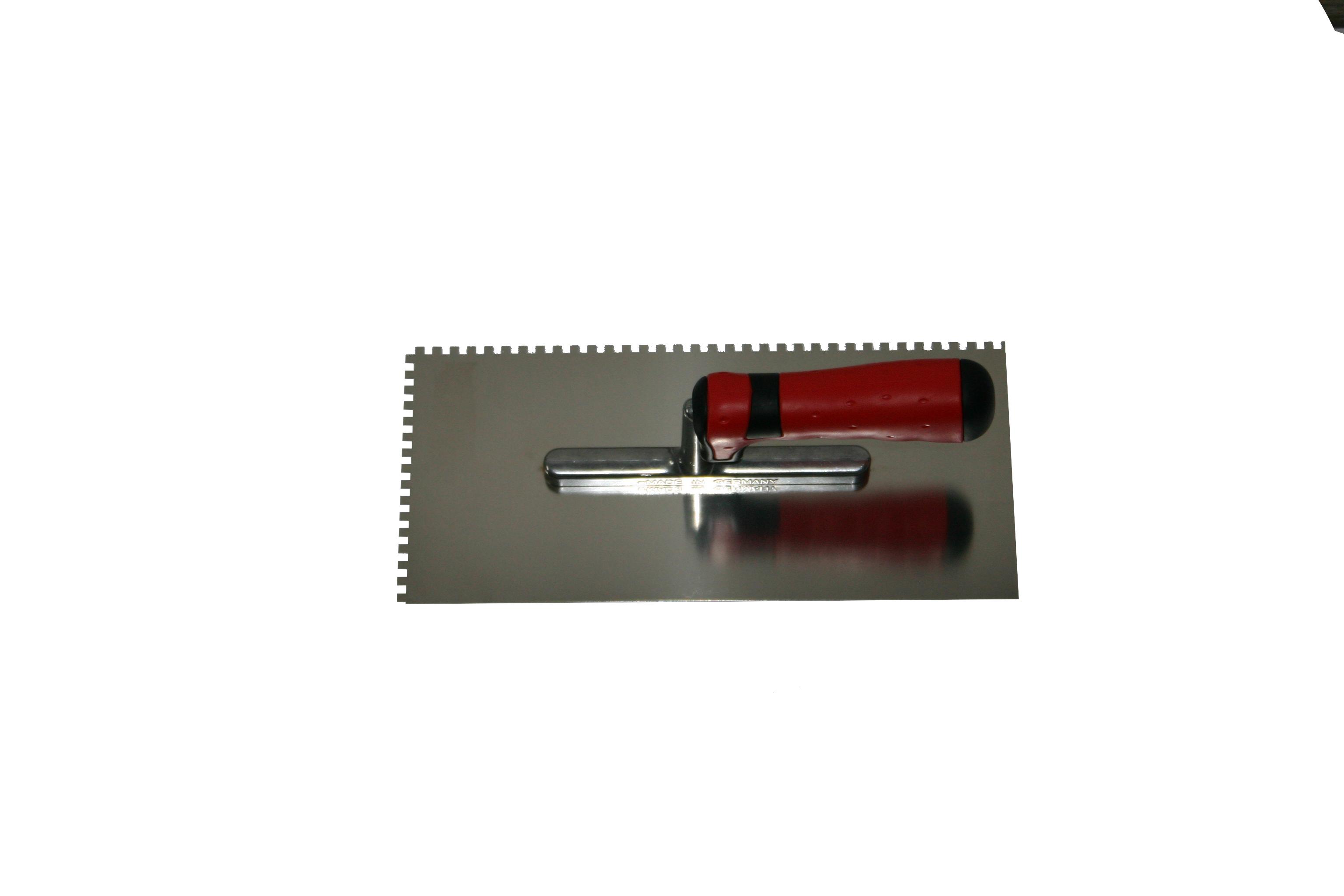 Gleter nazubljeni za nanošenje ljepila, 280x130 mm, PAJARITO