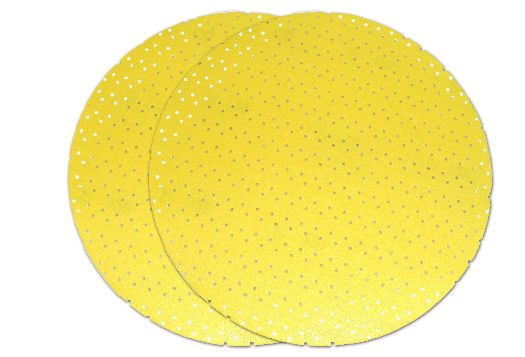 Brusni papir na čičak perforirani, promjer 225 mm granulacija 120, BERG