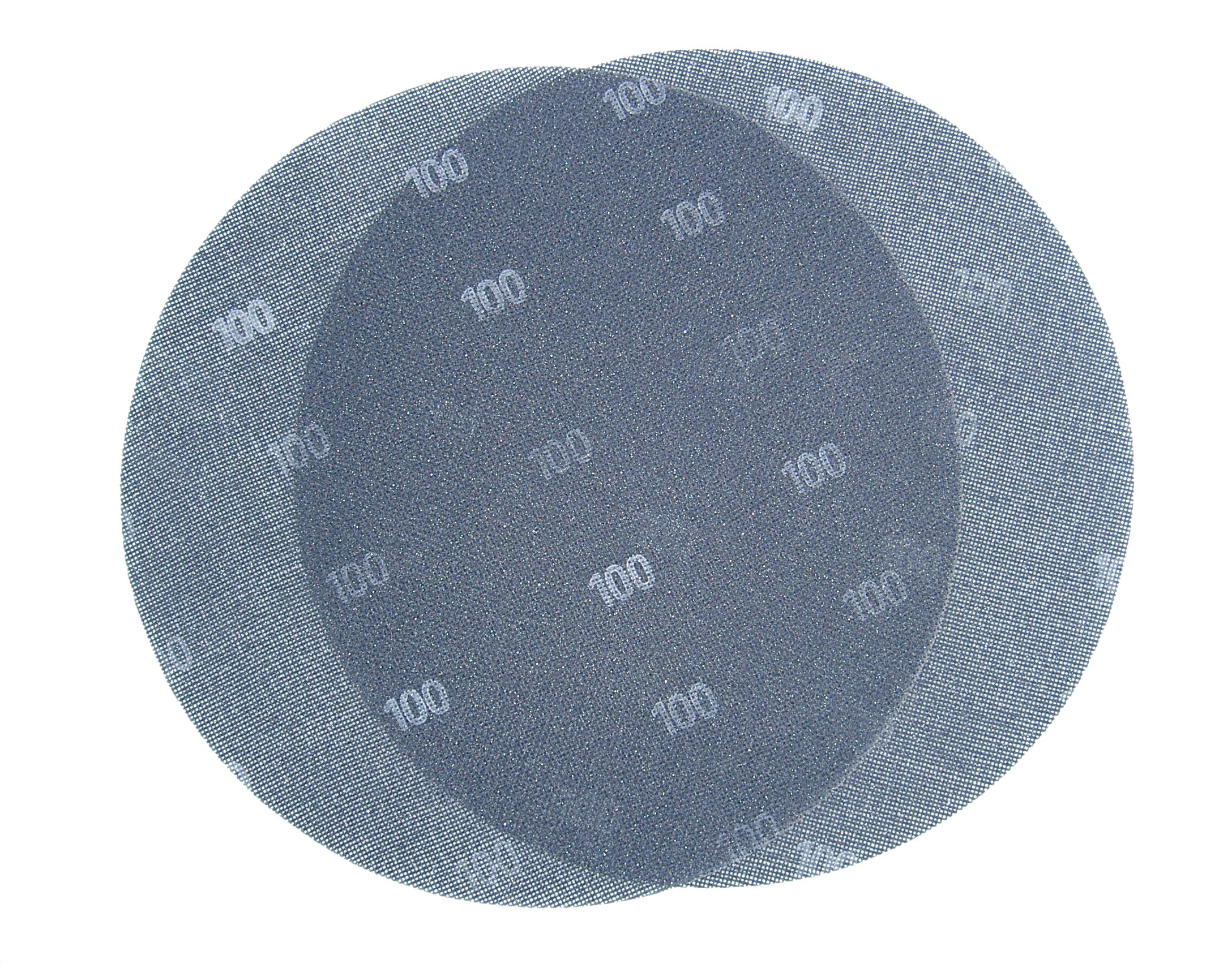 Brusna mrežica na čičak, promjer 225 mm granulacija 80, BERG