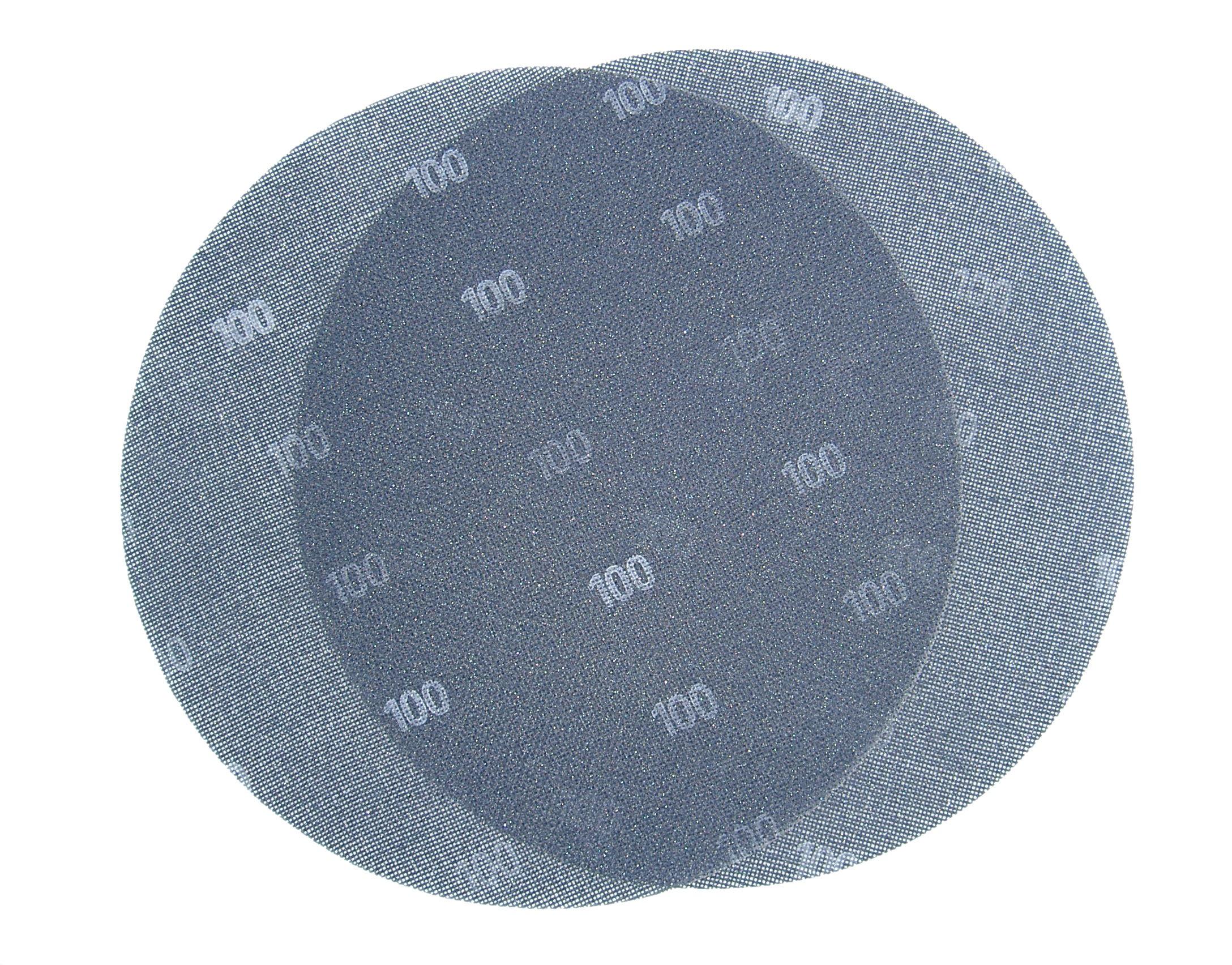 Brusna mrežica na čičak, promjer 225 mm granulacija 120, BERG