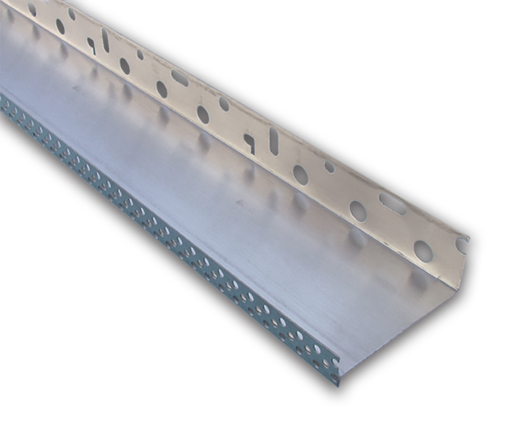 Alu profil za podnožje fasade, 60 mm x 2,5 m, BAUMIT