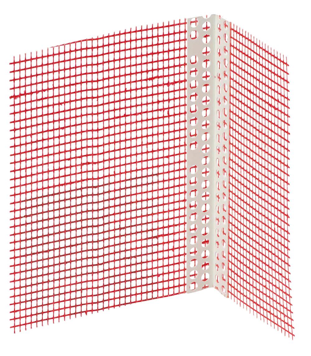 PVC kutni profil s mrežicom, 2,5 m/kom, BAUMIT