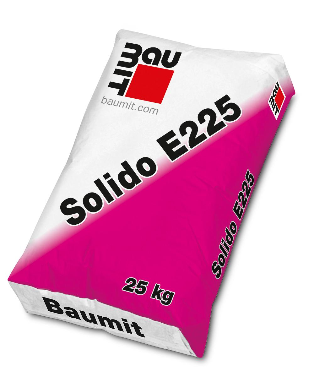 Cementni estrih, SOLIDO 225, 25 kg, BAUMIT