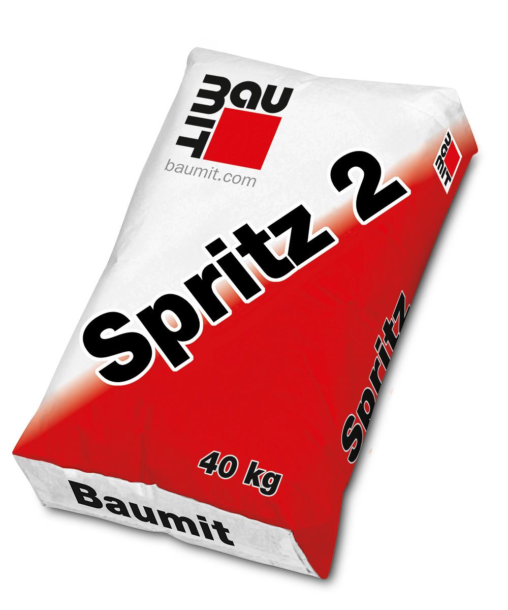 Cementni špric za vapneno-cementne žbuke BAUMIT SPRITZ 2, 25 kg