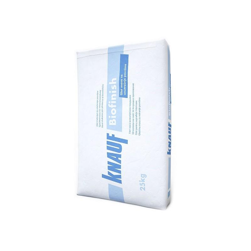 Masa za gletanje vanjskih i unutarnjih zidova i stropova, BIOFINISH, 25 kg, KNAUF