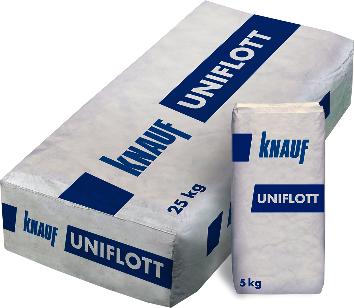 Glet masa za obradu spojeva i površina gipsanih ploča, 5 kg, UNIFLOTT KNAUF