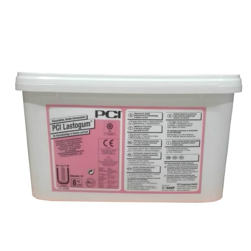 Vodonepropusna hidroizolacija, LASTOGUM WHITE 1K, 8 kg, PCI