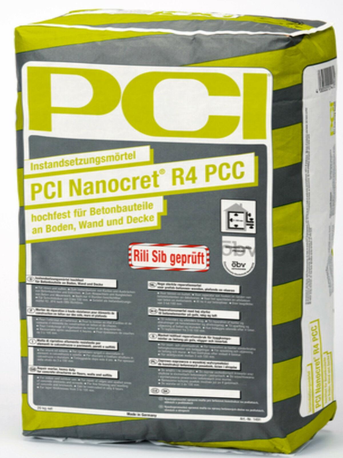 Reparaturni mort R4 NANOCRETE PCC, 25 kg, PCI
