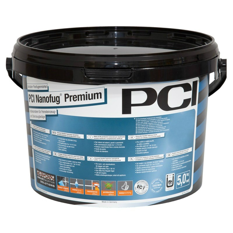 Masa za fugiranje, NANOFUG PREMIUM, ANTHRACITE 47, 5 kg, PCI