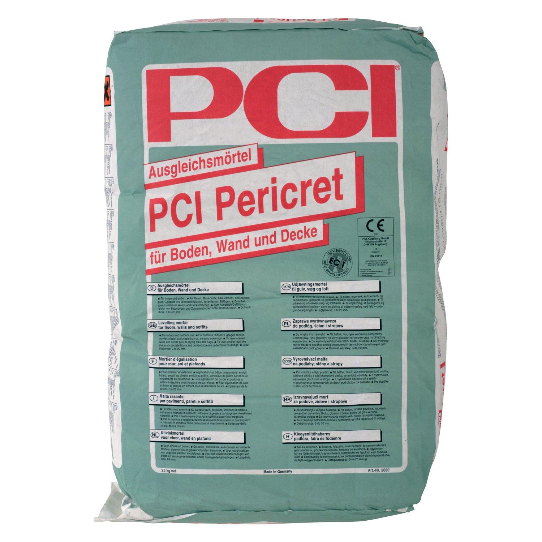 Masa za izravnavanje za podove i zidove PERICRET, 25 kg, PCI